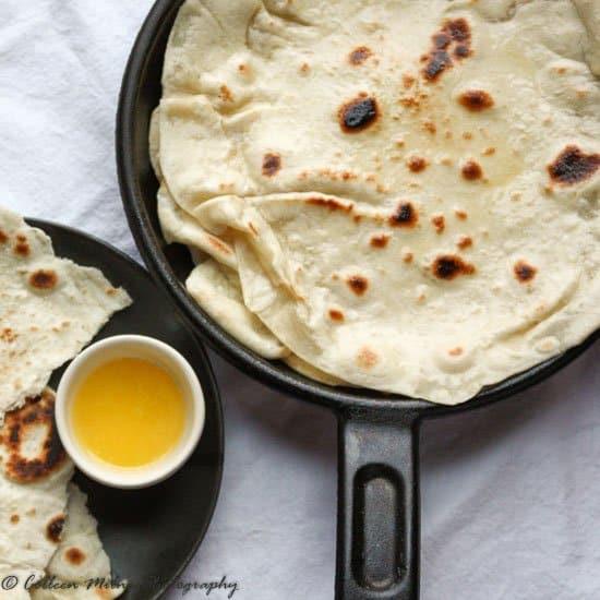 Naan Bread Recipe Easy Homemade Naan The Food Blog