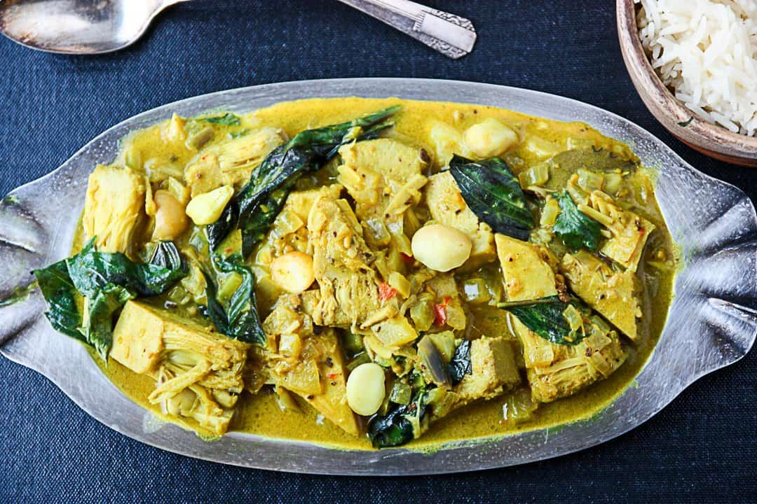 jackfruit curry  vegetarian curry recipe  the food blog, Beautiful flower