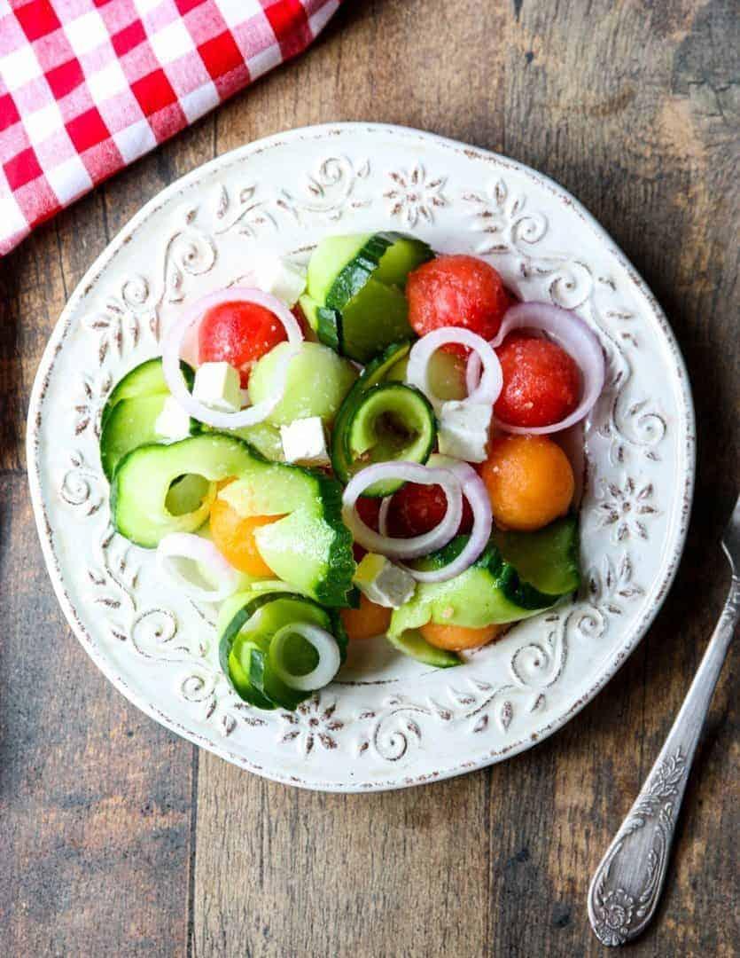Watermelon Salad - Immaculate Bites